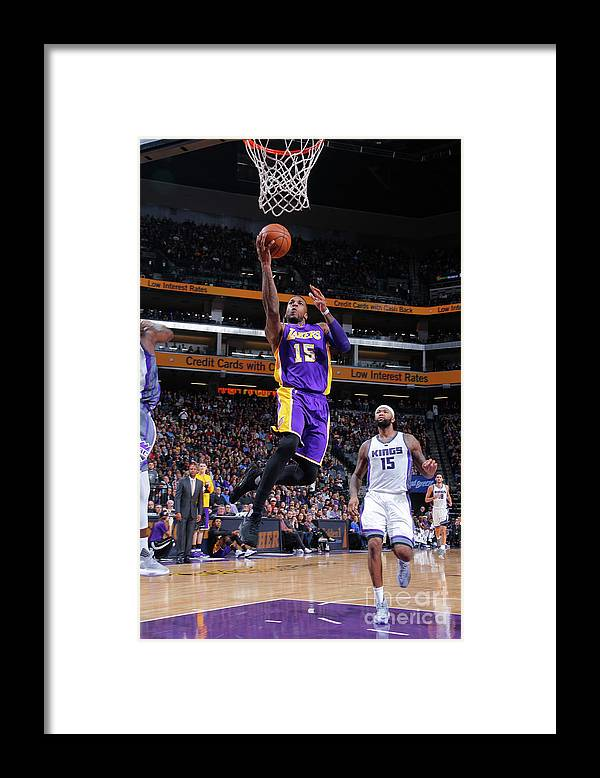 Nba Pro Basketball Framed Print featuring the photograph Thomas Robinson by Rocky Widner