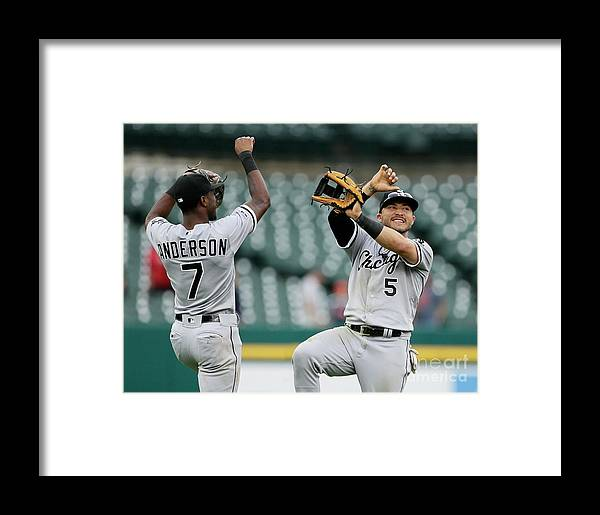 Three Quarter Length Framed Print featuring the photograph Tim Anderson by Duane Burleson