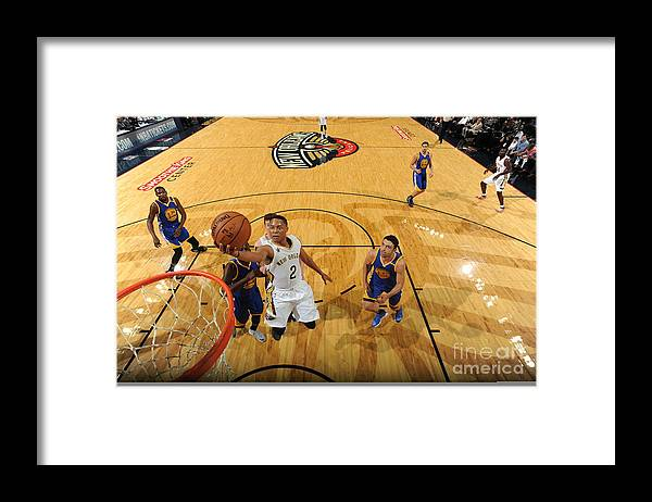 Smoothie King Center Framed Print featuring the photograph Tim Frazier by Andrew D. Bernstein