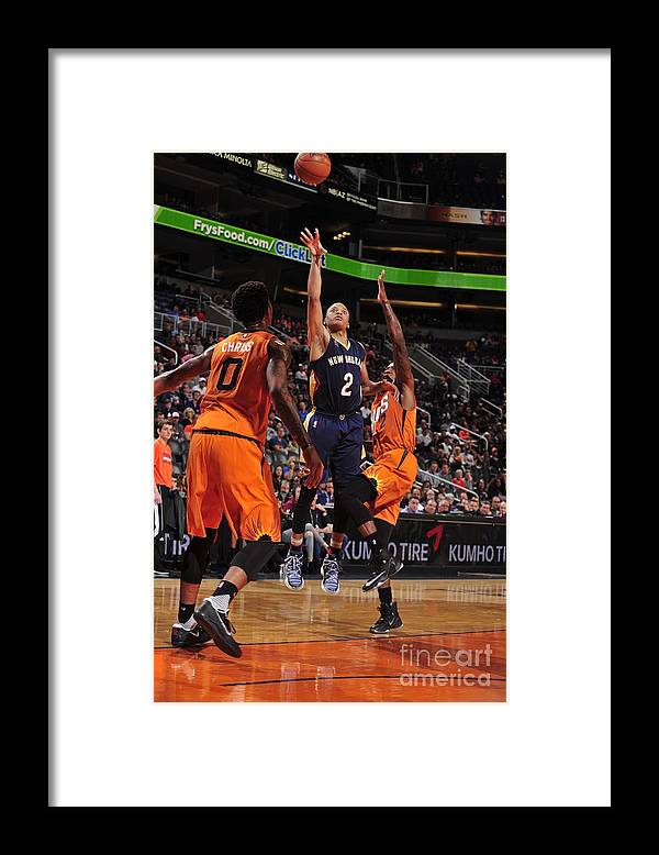 Nba Pro Basketball Framed Print featuring the photograph Tim Frazier by Barry Gossage