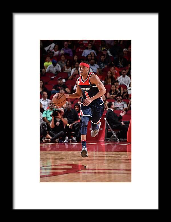 Nba Pro Basketball Framed Print featuring the photograph Tim Frazier by Bill Baptist