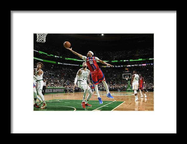 Nba Pro Basketball Framed Print featuring the photograph Tim Frazier by Brian Babineau