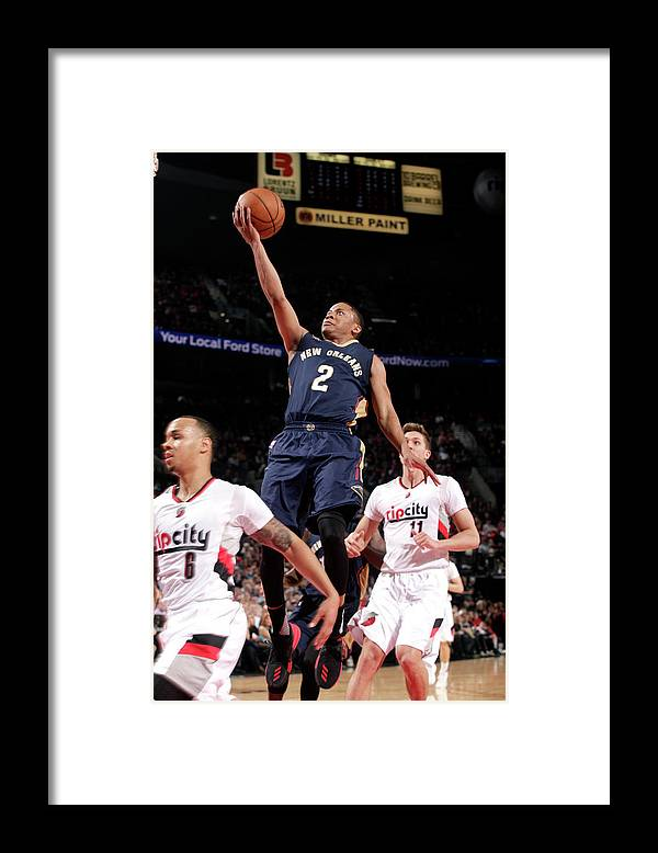 Nba Pro Basketball Framed Print featuring the photograph Tim Frazier by Cameron Browne