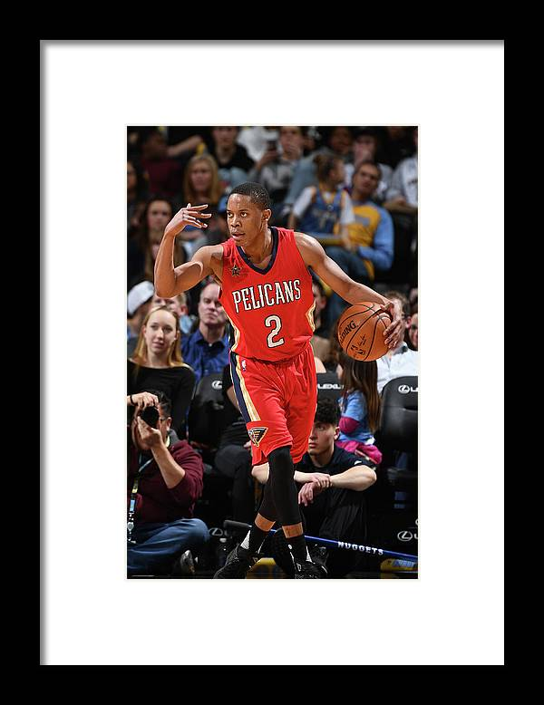 Nba Pro Basketball Framed Print featuring the photograph Tim Frazier by Garrett Ellwood