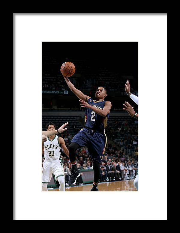 Nba Pro Basketball Framed Print featuring the photograph Tim Frazier by Gary Dineen