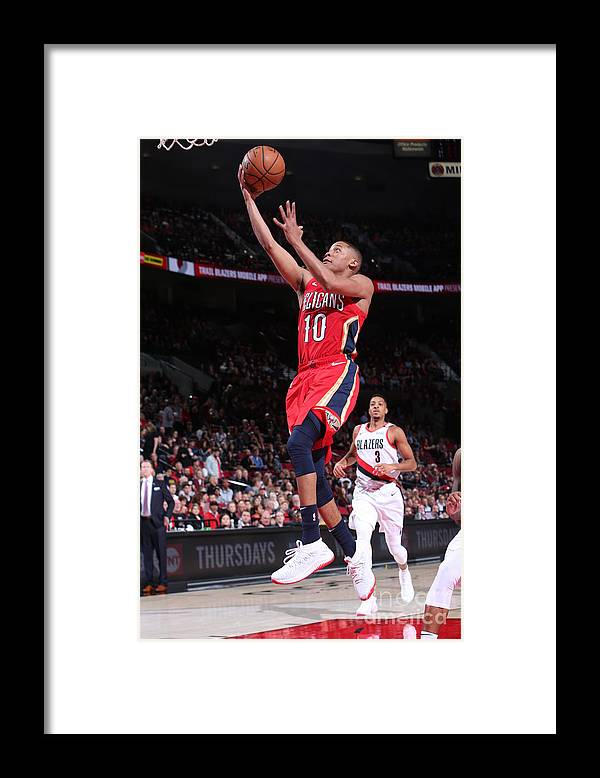 Nba Pro Basketball Framed Print featuring the photograph Tim Frazier by Sam Forencich