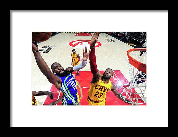Atlanta Framed Print featuring the photograph Tim Hardaway by Scott Cunningham