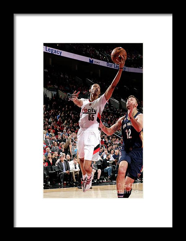 Nba Pro Basketball Framed Print featuring the photograph Tim Quarterman by Cameron Browne