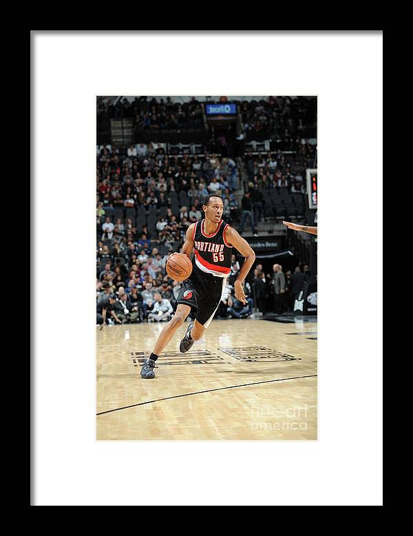 Nba Pro Basketball Framed Print featuring the photograph Tim Quarterman by Mark Sobhani