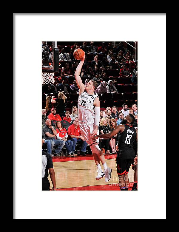 Nba Pro Basketball Framed Print featuring the photograph Timofey Mozgov by Bill Baptist