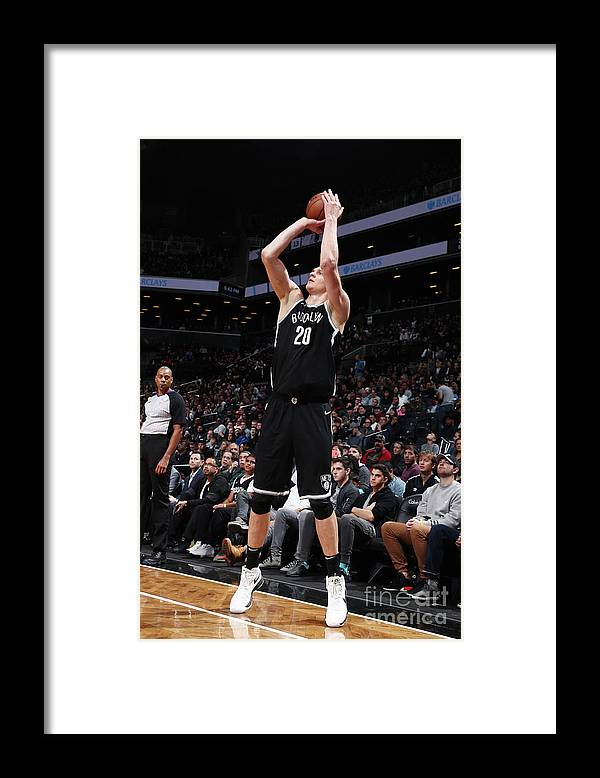 Nba Pro Basketball Framed Print featuring the photograph Timofey Mozgov by Nathaniel S. Butler