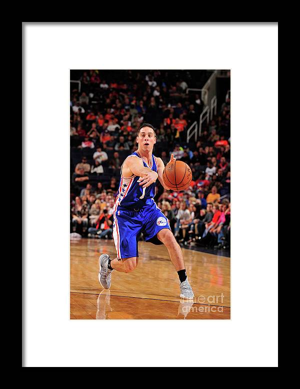 Nba Pro Basketball Framed Print featuring the photograph T.j. Mcconnell by Barry Gossage