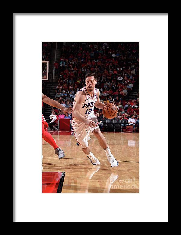 Nba Pro Basketball Framed Print featuring the photograph T.j. Mcconnell by Bill Baptist