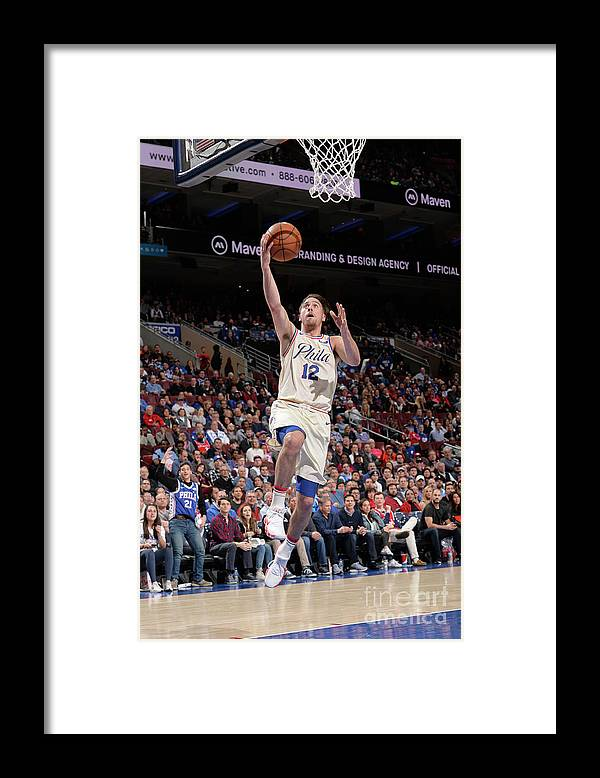 Sports Ball Framed Print featuring the photograph T.j. Mcconnell by David Dow