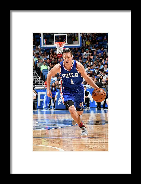 Nba Pro Basketball Framed Print featuring the photograph T.j. Mcconnell by Fernando Medina