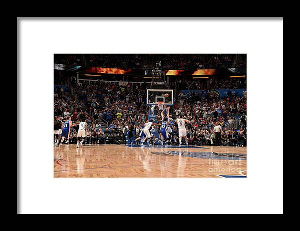 Nba Pro Basketball Framed Print featuring the photograph T.j. Mcconnell by Gary Bassing
