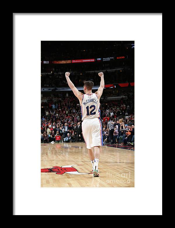 Nba Pro Basketball Framed Print featuring the photograph T.j. Mcconnell by Gary Dineen