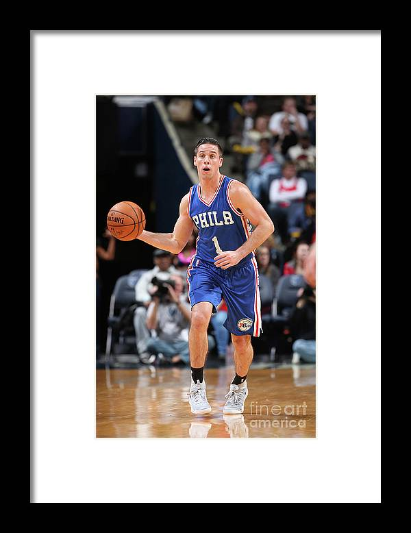 Nba Pro Basketball Framed Print featuring the photograph T.j. Mcconnell by Joe Murphy