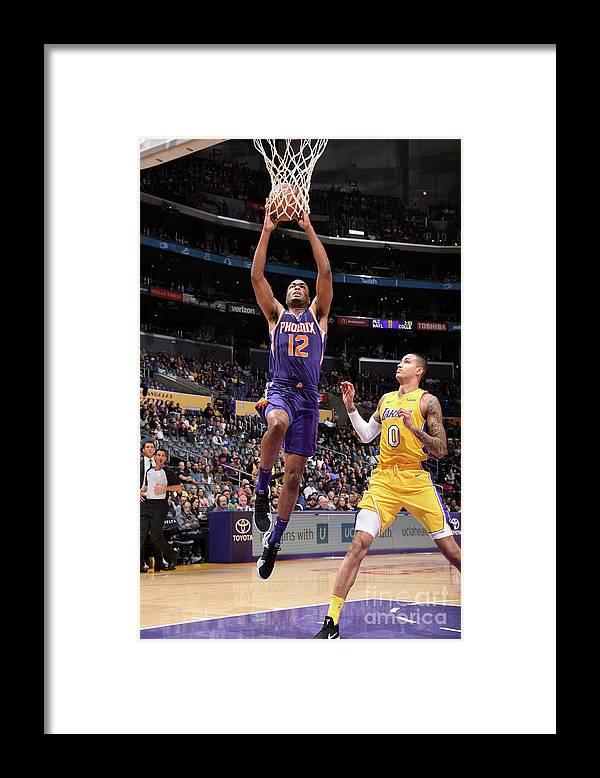 Nba Pro Basketball Framed Print featuring the photograph T.j. Warren by Andrew D. Bernstein