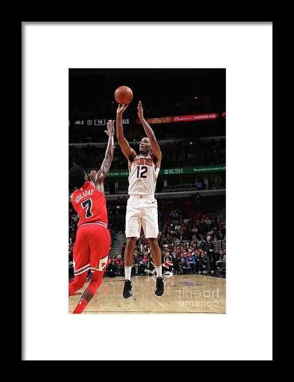 Nba Pro Basketball Framed Print featuring the photograph T.j. Warren by Gary Dineen
