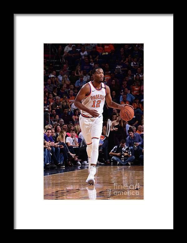 Nba Pro Basketball Framed Print featuring the photograph T.j. Warren by Michael Gonzales