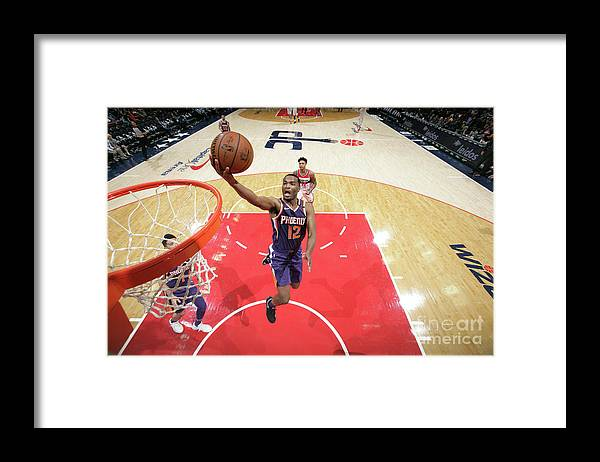 Nba Pro Basketball Framed Print featuring the photograph T.j. Warren by Ned Dishman