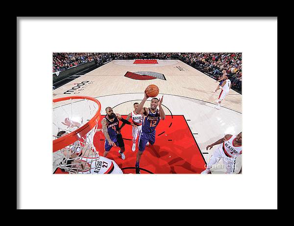 Nba Pro Basketball Framed Print featuring the photograph T.j. Warren by Sam Forencich