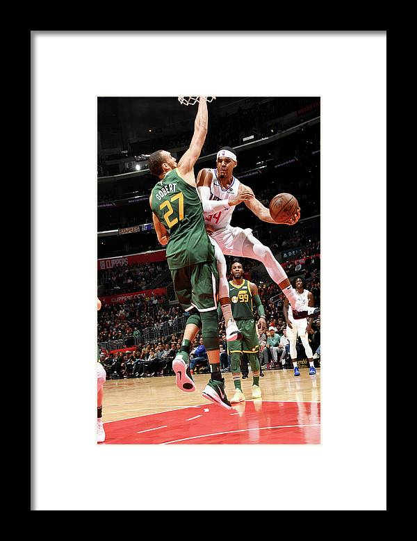 Nba Pro Basketball Framed Print featuring the photograph Tobias Harris by Andrew D. Bernstein