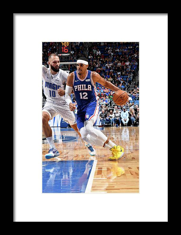 Nba Pro Basketball Framed Print featuring the photograph Tobias Harris by Fernando Medina