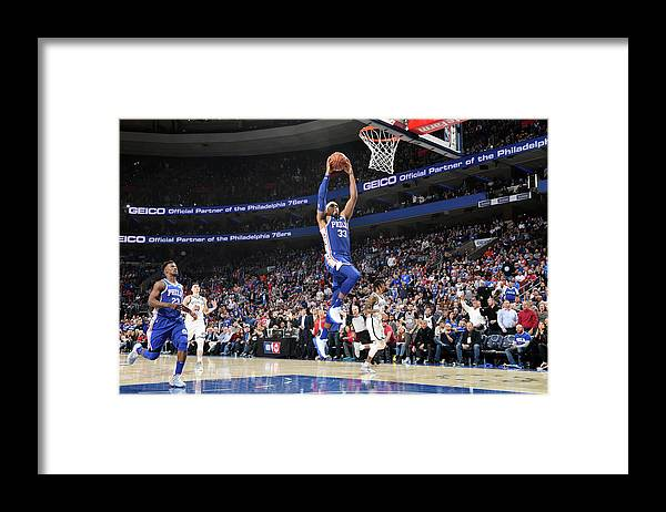 Playoffs Framed Print featuring the photograph Tobias Harris by Jesse D. Garrabrant