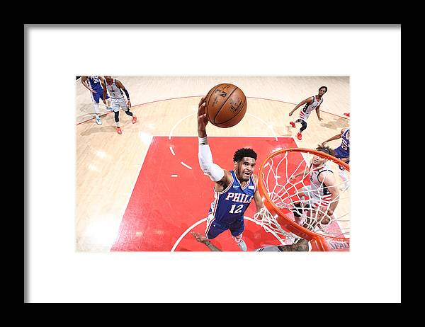 Playoffs Framed Print featuring the photograph Tobias Harris by Ned Dishman