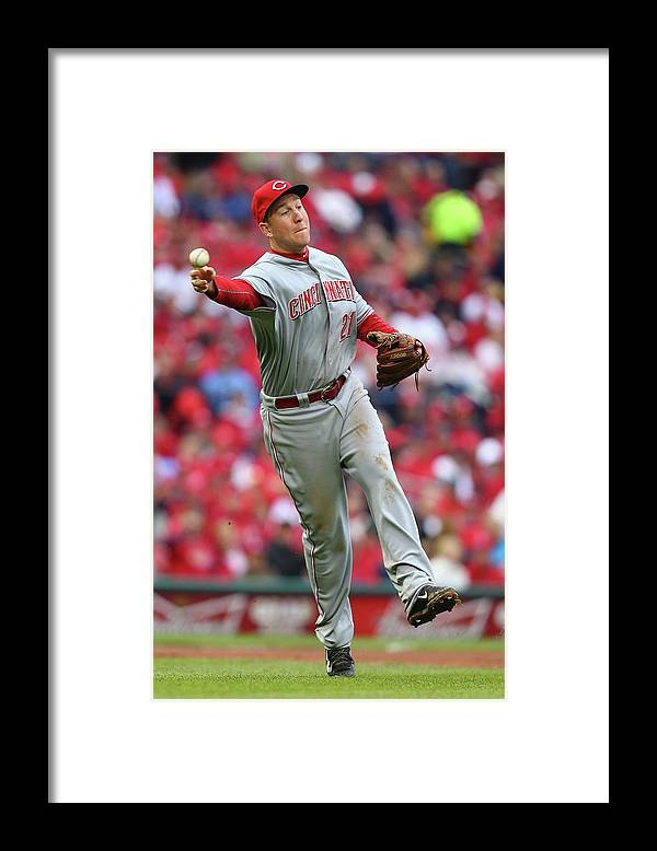 People Framed Print featuring the photograph Todd Frazier by Dilip Vishwanat