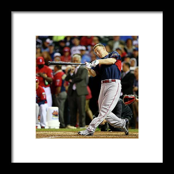 American League Baseball Framed Print featuring the photograph Todd Frazier by Elsa