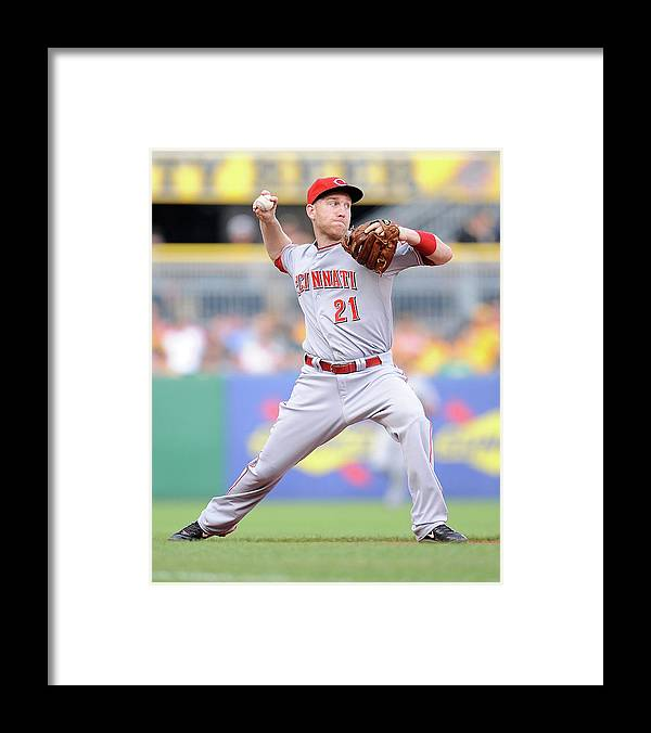 People Framed Print featuring the photograph Todd Frazier by Joe Sargent