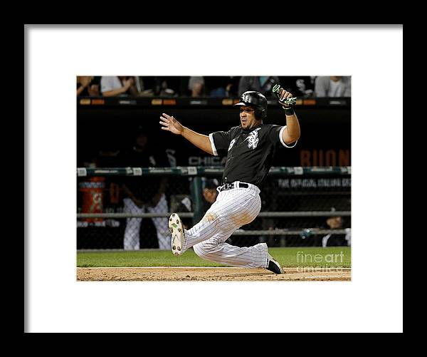 People Framed Print featuring the photograph Todd Frazier by Jon Durr