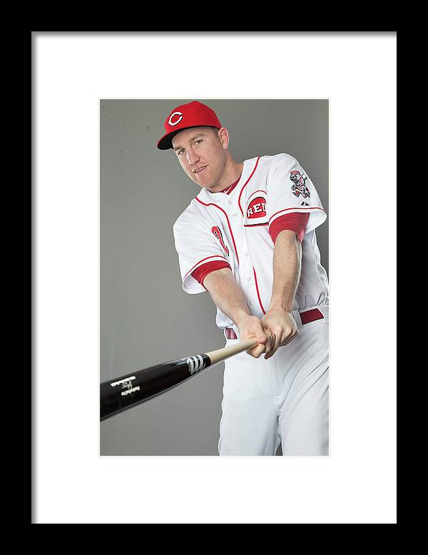 People Framed Print featuring the photograph Todd Frazier by Mike Mcginnis