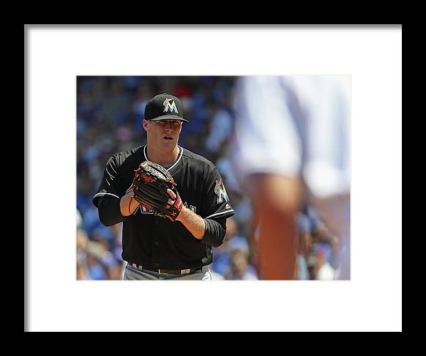 People Framed Print featuring the photograph Tom Koehler and Kris Bryant by Jonathan Daniel