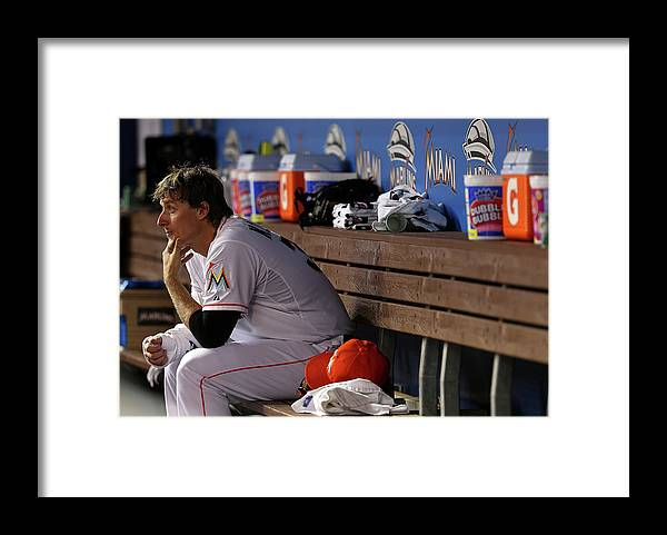 American League Baseball Framed Print featuring the photograph Tom Koehler by Mike Ehrmann