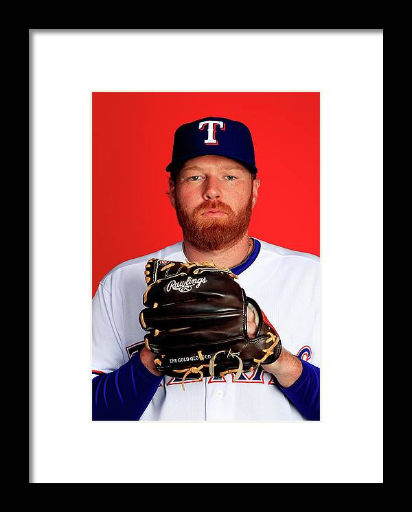 Media Day Framed Print featuring the photograph Tommy Hanson by Jamie Squire