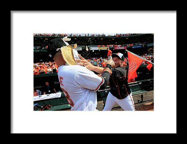 Following Framed Print featuring the photograph Tommy Hunter and Steve Pearce by Rob Carr