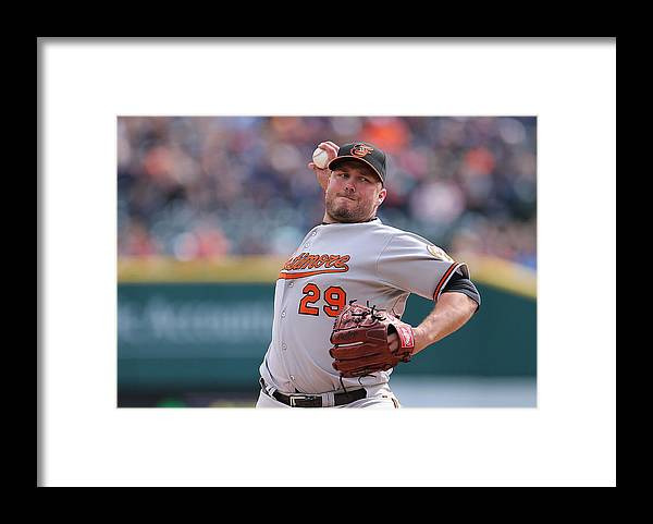 Ninth Inning Framed Print featuring the photograph Tommy Hunter by Leon Halip