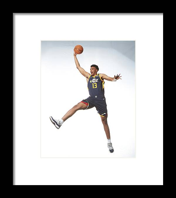 Nba Pro Basketball Framed Print featuring the photograph Tony Bradley by Nathaniel S. Butler
