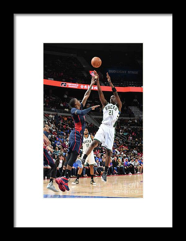 Nba Pro Basketball Framed Print featuring the photograph Tony Snell by Chris Schwegler