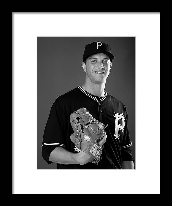 Media Day Framed Print featuring the photograph Tony Watson by Elsa