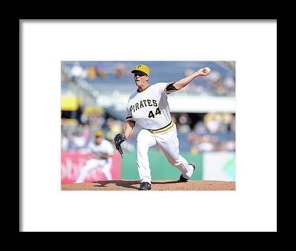 Pnc Park Framed Print featuring the photograph Tony Watson by Joe Sargent