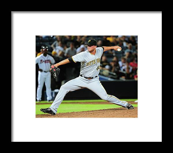 Atlanta Framed Print featuring the photograph Tony Watson by Scott Cunningham
