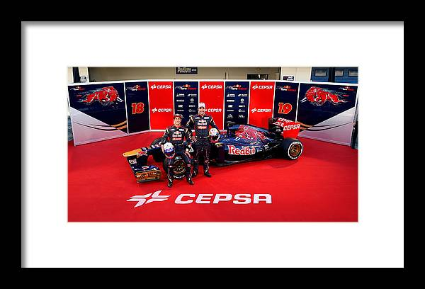 Australia Framed Print featuring the photograph Toro Rosso F1 Launch by Peter Fox