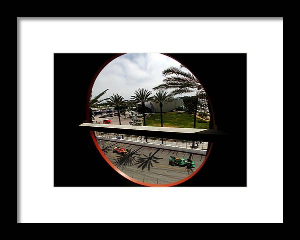 California Framed Print featuring the photograph Toyota Grand Prix of Long Beach - Day 3 by Donald Miralle