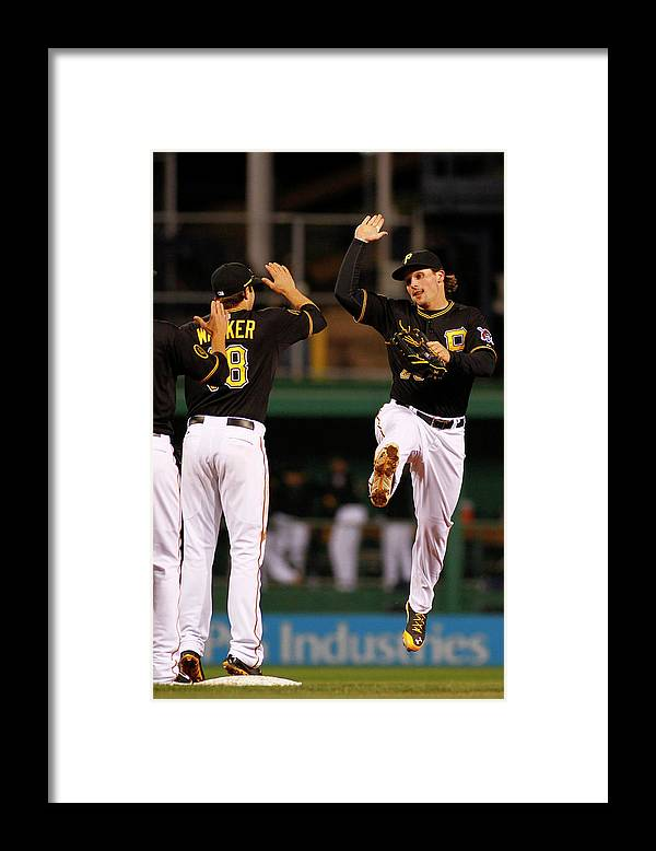 Professional Sport Framed Print featuring the photograph Travis Snider by Justin K. Aller