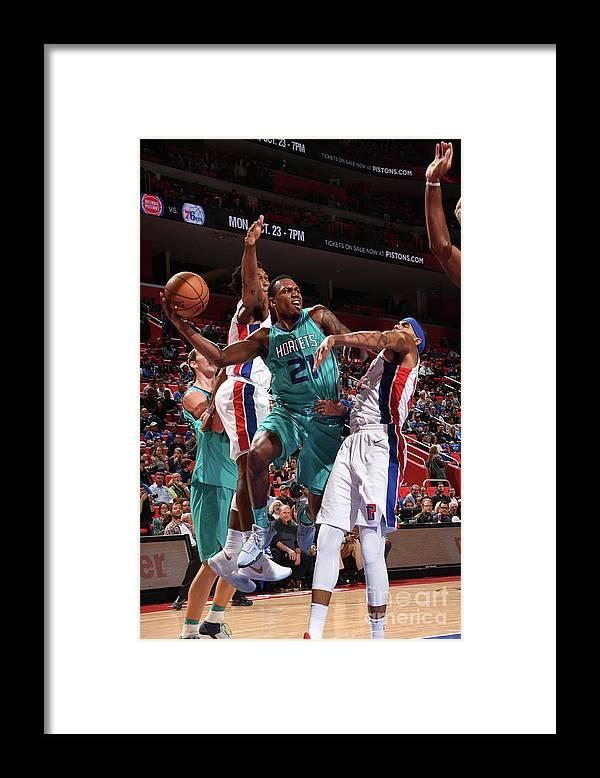 Nba Pro Basketball Framed Print featuring the photograph Treveon Graham by Chris Schwegler